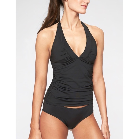 f78afe5576405 Athleta Swim | Shirrendipity Halter Tankini | Poshmark